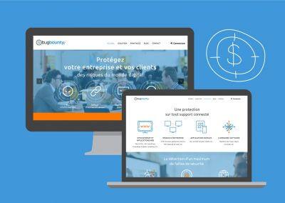 Site de présentation du e-service BugBountyZone (en collaboration avec Idmagine)