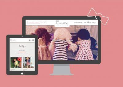"""Site e-commerce """"Poupées Chaperon"""""""
