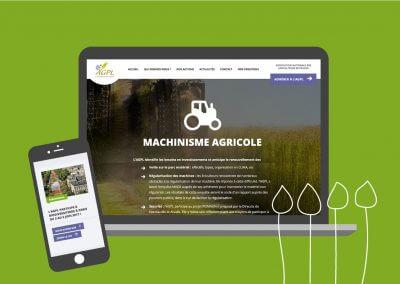 Site internet de l'Association générale des producteurs de lin (en collaboration avec Idmagine)