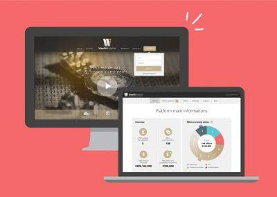 Webdesign et intégration d'une plateforme d'achat/vente, back office et front office (en collaboration avec l'agence Idmagine)