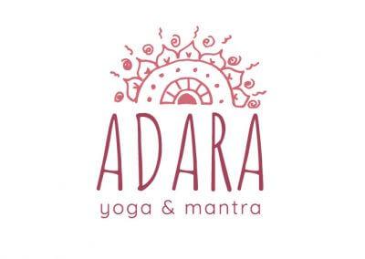 Logo Adara, cours de yoga et chant de mantra