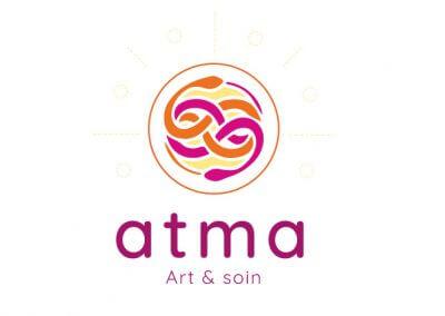 Création du logo de l'association Atma, art & soin