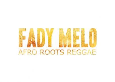Logo du groupe de musique reggae Fady Mélo