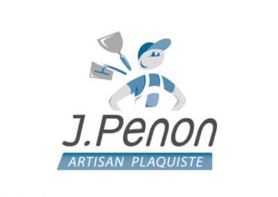 Création d'un logo pour un artisan plaquiste (réalisé au sein de l'agence Adélic communication)
