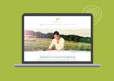 Site web de Benjamin Tixier, praticien en Ostéothaï et travail énergétique