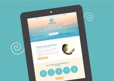 Création du site internet sous Wordpress de Gaëlle Ruan, psychologue à Orléans