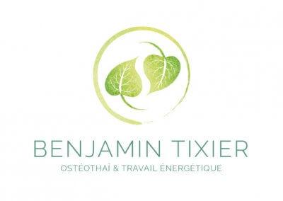 Logo de Benjamin Tixier, praticien en Osthéothaï et travail énergétique